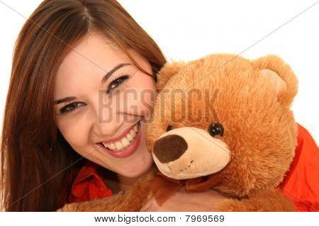 Pretty Woman And Bear