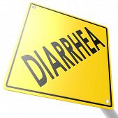 picture of diarrhea  - Road sign with diarrhea image with hi - JPG