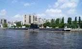 stock photo of labo  - The Russian diesel submarine is now used as a museum - JPG