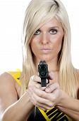 picture of glock  - A Glock 30 45 Caliber Subcompact Handgun - JPG