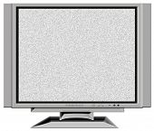 TV with static screen