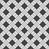 picture of chinese checkers  - Chinese black and white motif - JPG