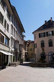 picture of stein  - The little old town Stein am Rhein - JPG