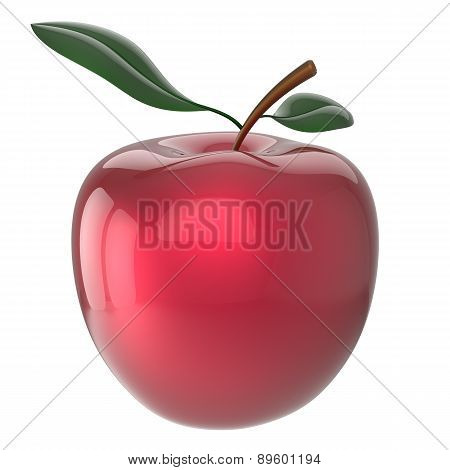 Apple Red Ripe Fruit Nutrition Antioxidant Fresh Fruit