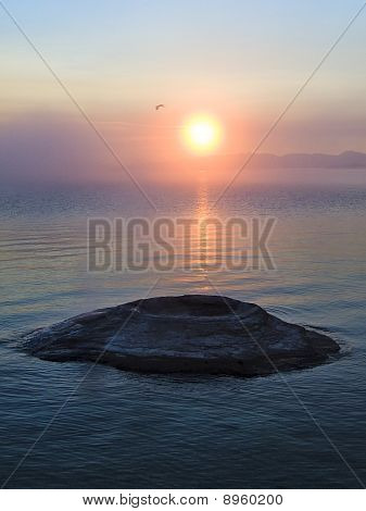 Fishing Cone at Sunrise, Yellowstone National Park, Wyoming