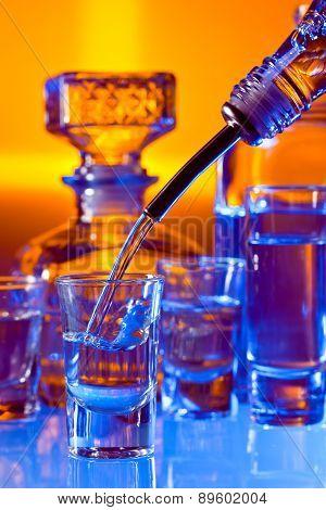 Beverages In Bar