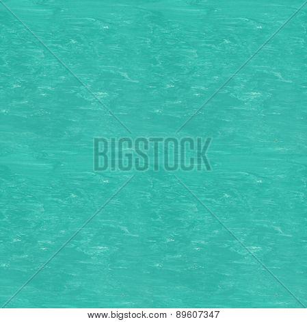 Seamless Tileable Texture - Aqua Linoleum Floor