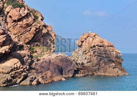 Cliffs Of Calanche (corsica)