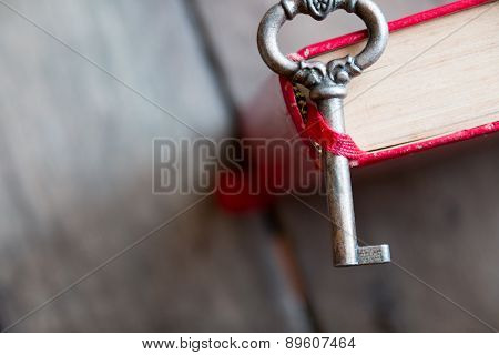 Key And  Old Book