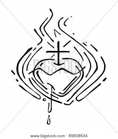 Jesus Sacred Heart F