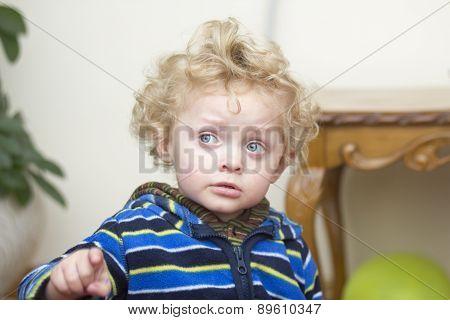 Little Worried Boy