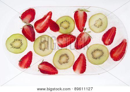 Kiwi And Strawberries