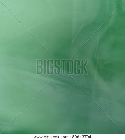 Blurry Green White Background With Waves