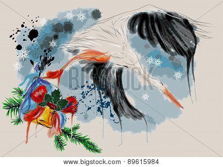 Christmas Stork