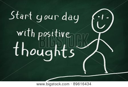 Start Your Day With Positive Thoughts