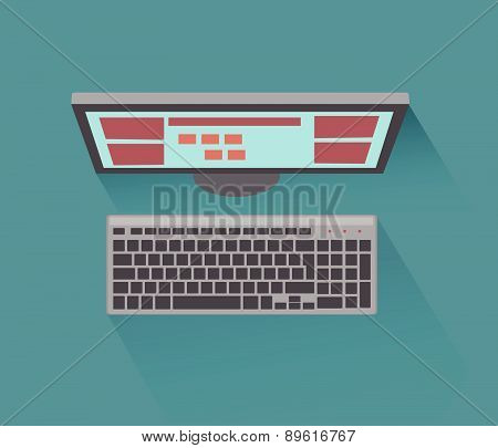 Computer Desktop Icon