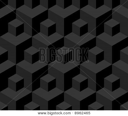Seamless Cubes Background.