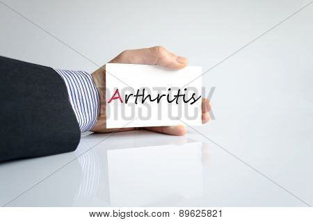 Hand Writing Arthritis
