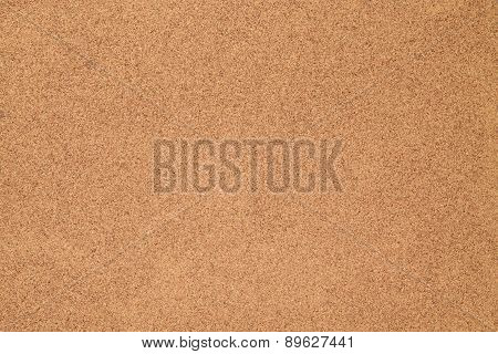 Closeup of brown textured cork used for background