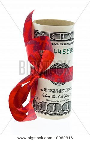 Dollar Bills As Money Gift