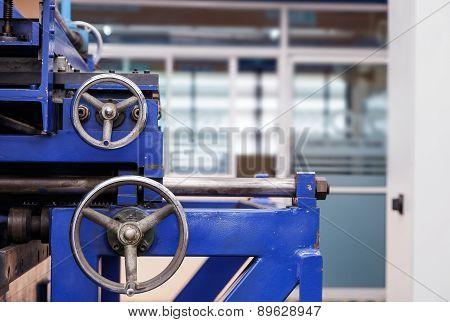 Control Wheels Of Cutting Machine