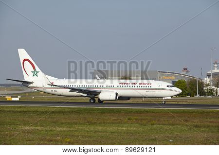 Frankfurt Airport - Boeing 737-800 Of Royal Air Maroc Takes Off