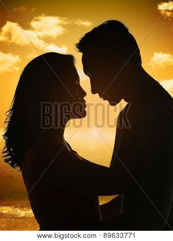 The Couple Silhouette