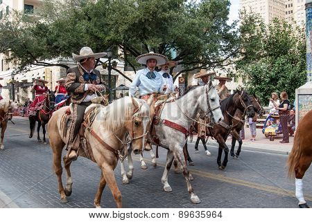 San Antonio Rodeo Parade Riders