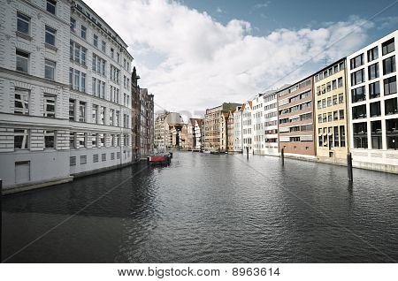 Street View From Hamburg, Germany