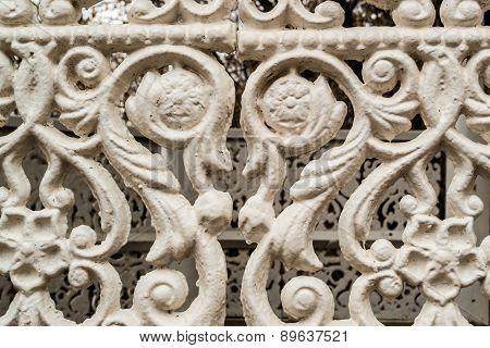 White Cast Iron Detail