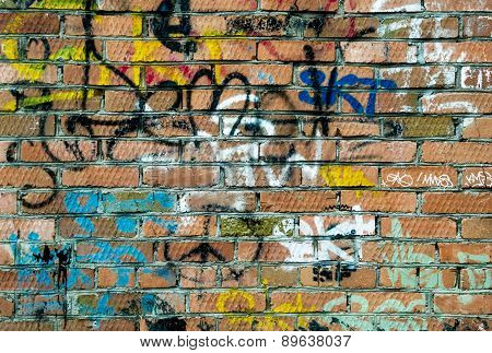 Red Brick And Spray Can Art Tags