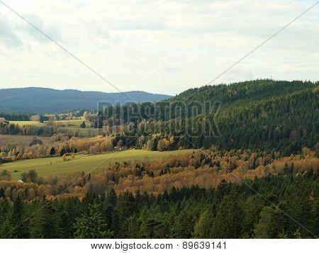 Autumn Landscape, Southern Bohemia