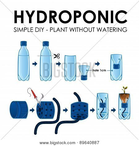 Diagram Of A Hydroponics Setup