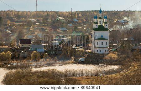 City Totma. Vologda region. Russia