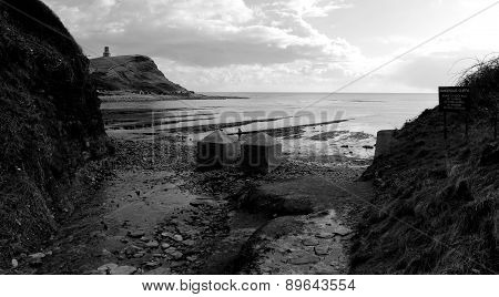 Kimmeridge Beach