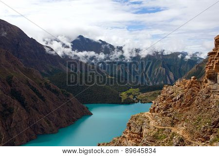 Phoksundo Lake In Dolpo, Nepal