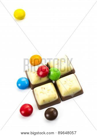 Dragee And Chocolate