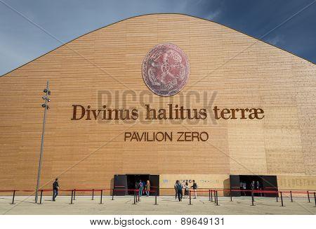 Pavilion Zero At Expo 2015 In Mialn, Italy