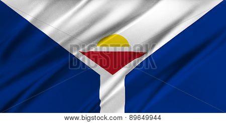 Flag Of Saint-martin