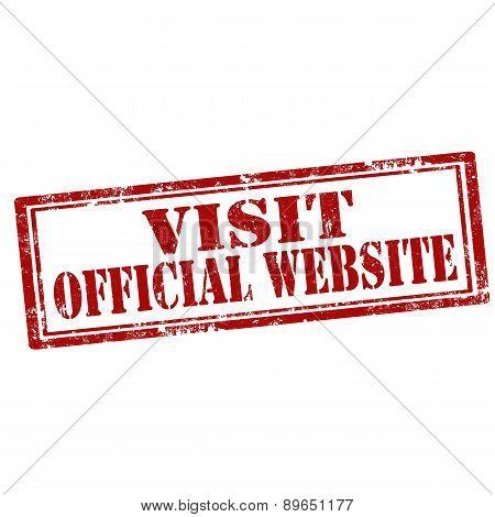 Visit Official Website-stamp