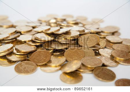 Coins Of Ukrainian Hryvnias