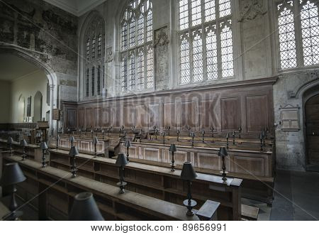 May,2,2015; Guild Chapel,an historic mediaeval building in Stratford-upon-Avon, England, founded in 1269
