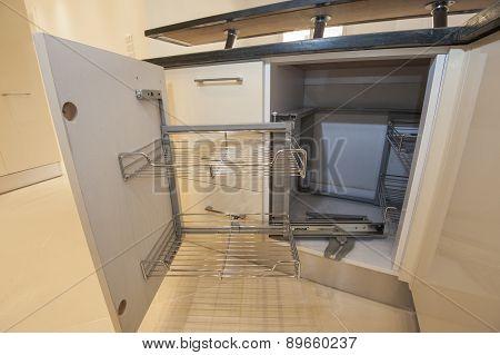 Kitchen Interior Design Cupboard Detail