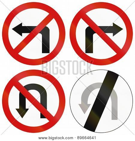 Turn Prohibitions In Poland