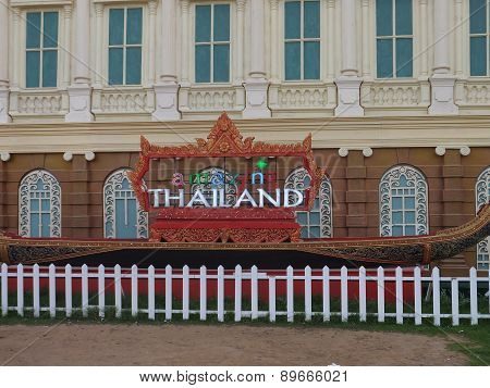 Thailand pavilion at Global Village in Dubai, UAE