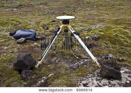 Ground Positioning Equipment Monitoring For Earthquake And Volcanic Activity
