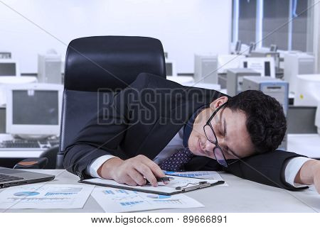 Employee Naps In The Office