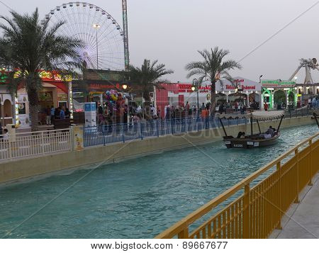 Pavilions at Global Village in Dubai, UAE