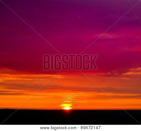 View Sunset Night
