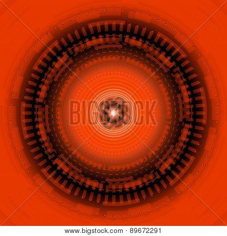 Elegant background design withblack orange